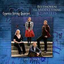 Beethoven / Cypress - Middle String Quartets [New CD]