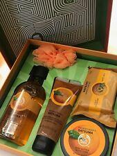 Satsuma Orange Festive Picks Bath Shower Gift Set The Body Shop SHIPS FREE