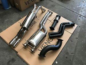VENOM FG FGX Turbo Back System Ute - Ford FG XR6 XR6T F6 F6E FPV Exhaust