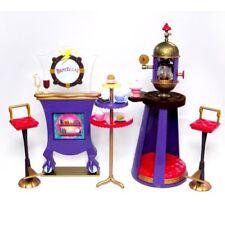 Bratz Bratzillaz Cafe Zap Playset Bistro Table Chairs Fireplace Monster High New