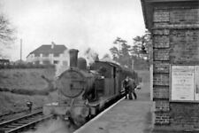 PHOTO  LNER EX-GE F5 2-4-2T NO. 67200. AT ONGAR RAILWAY STATION 1957