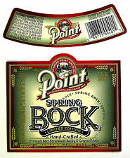 Stevens Point Brewery SPRING BOCK- LIMITED EDITION beer label WI 12oz with neck