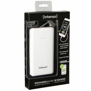 Intenso Powerbank Slim S10000 10000 mAh Ladestation mit micro USB