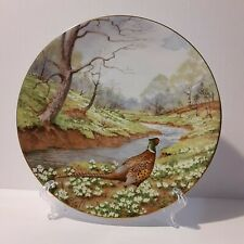 Royal Doulton Waterside Pheasant By Elizabeth Gray 8 inch Display Plate