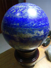 2.9 lb 95 mm NATURAL Lapis Lazuli crystal sphere ball healing D926
