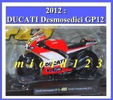 1/18 - ROSSI - DUCATI DESMOSEDICI GP 12 - 2012 WORLD CHAMPIONSHIP - Die-cast