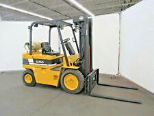 Daewoo Pneumatic Tire Forklift 5000 Lb Capacity Lpg Id N 022