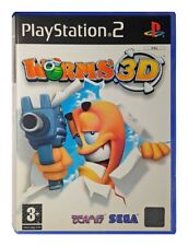 WORMS 3D Sony Playstation 2 Game PS2