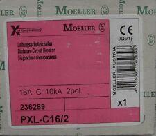 Moeller Leitungsschutzschalter PXL-C16/2 2 polig 236289,C 16 A,Automat C16A