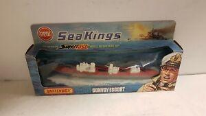 Sea King Nave K306 Convoy Escort Die Cast Metal 1-200 Matchbox 1976 Vintage