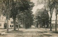 WAITSFIELD VT - Main Street Real Photo Postcard rppc