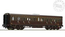 ROCO 64980 carrozza passeggeri centoporte FS castano isabella 3° classe Ep III