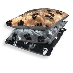FUR PAWS – PET CUSHIONS. Long Fur Dog & Cat Pillows. Medium & Extra Large Beds