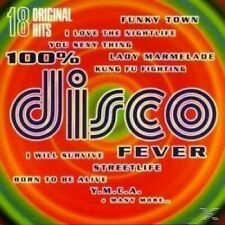 100% Disco Fever-18 original Hits Village People, Donna Summer, Carl Doug.. [CD]
