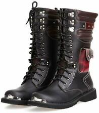 ZLL8 Boot Men's High Boots Outdoor Boots (Black,Label 43/9 D(M) US Men)