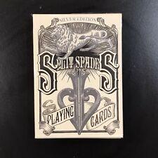 David Blaine Split Spades Silver Edition - Rare Sealed Deck