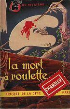 RARE EO COLLECTION UN MYSTÈRE N° 48 RAYMOND CHANDLER : LA MORT À ROULETTE