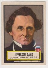 1954 Topps Look and See #14 Jefferson Davis, Excellent Condition'