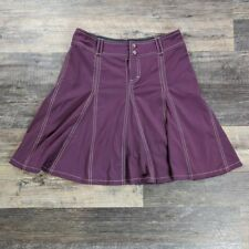 Athleta Tennis Pleated Skort Skirt and Shorts Women's Size 2 Purple
