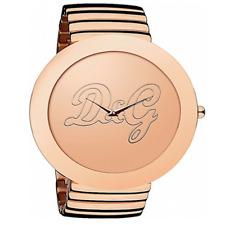 Reloj Mujer DW0282 D&G Dolce Y Gabbana Pulsera Correa Rosa Analógico Cuarzo