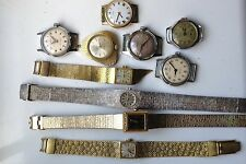 JOB LOT LADIES VINTAGE WATCHES FOR SPARES REP ROTARY CHATEAU ADVANCE TIMEX ++++