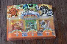 4 Sets of Skylanders Giants , Each Set contains 3 Pieces Total of 12 Skylanders