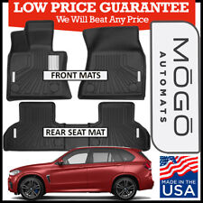 MOGO™ by Husky Liners Front & Rear Luxury Floor Mats for 2014-2017 BMW X5 BLACK