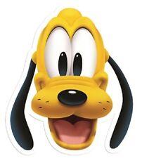 Pluto Disney Singolo 2D Biglietto Fun Faccia Maschera Ideale per Per bambini