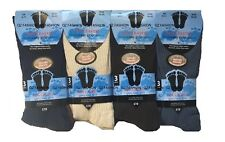 3 X MEN'S SOCKS EASY GRIP SOFT TOP DIABETIC NON ELASTIC 100% COTTON SIZE 6-11
