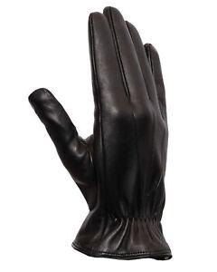 NWT LABONIA GLOVES lamb leather cashmere black Napoli luxury handmade Italy 8