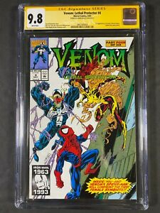 CGC Signature Series Venom: Lethal Protector #4 9.8 1993 3867595003 Mark Bagley