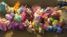 """Vintage My Little Pony Lot of you would know better than I ponies."""" Most marked."""
