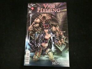 Van Helsing vs League of Monsters #4 - NM(-) - Cover B! Grostieta Cover!