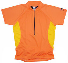 Bellwether Absolute Cycling Jersey Womens Medium M Short Sleeve Mango Orange