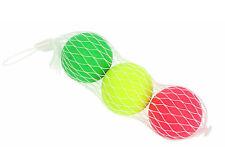 Set de 3 balles pour raquettes de plage, beach ball, jeux de plage, jouet NEUF
