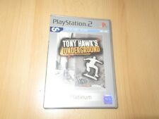 Playstation 2 Tony Hawk's Underground Platine (PS2) Pal comme Neuf Collectors