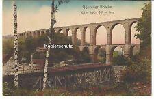 1914 - Göhrener Brücke an der Zwickauer Mulde und nahe dem Chemnitztal