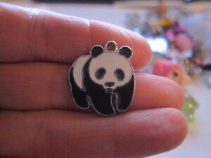 panda MINI CELL PHONE CHARM KAWAII CUTE