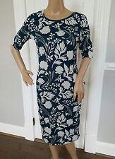 New Lularoe Julia Dress XS Teal with light gray Floral Pattern Unicorn HTF