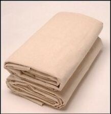 9 x 12 All Purpose Canvas Cotton Drop Cloth, New, Free Shipping