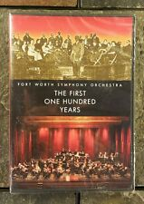 """Fort Worth Symphony Orchestra """"The First 100 Years""""  DVD Miguel Harth-Bedoya New"""