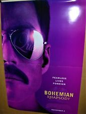 Queen Bohemian Rhapsody Original Movie Poster Nov 2nd 2018 Rami Malek Freddie M
