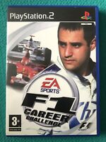 F1 Career Challenge- Sony Playstation 2 - PS2 Racing Game-VGC