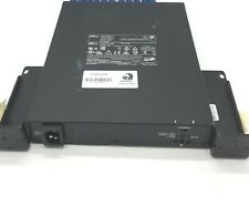 Dell  X1026 E10W 24-Port Gigabit 2x SFP Ethernet Switch ear racks 12 cables incl