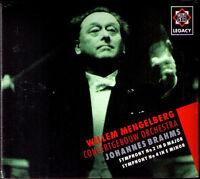 Willem MENGELBERG: BRAHMS Symphony No.2 & 4 CONCERTGEBOUW Sinfonien CD NEU