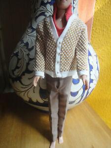 Original Barbie Mattel Clothes KEN 1964 FRATERNITY # 1408 GC Black Label