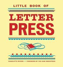 Little Book of Letterpress (Little Book Of... (Chronicle Books))