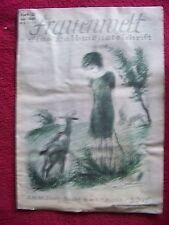 Frauenwelt   Eine Halbmonatschrift   Heft 12   Jahrgang 1926