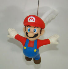 Super Mario Brothers Fly Mario Red Hat Action Figure Plastic Toy 12.5CM