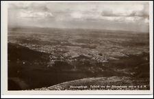 Riesengebirge Schlesien AK 1930 Polen Karkonosze Fernblick Schneekoppe (Berg)